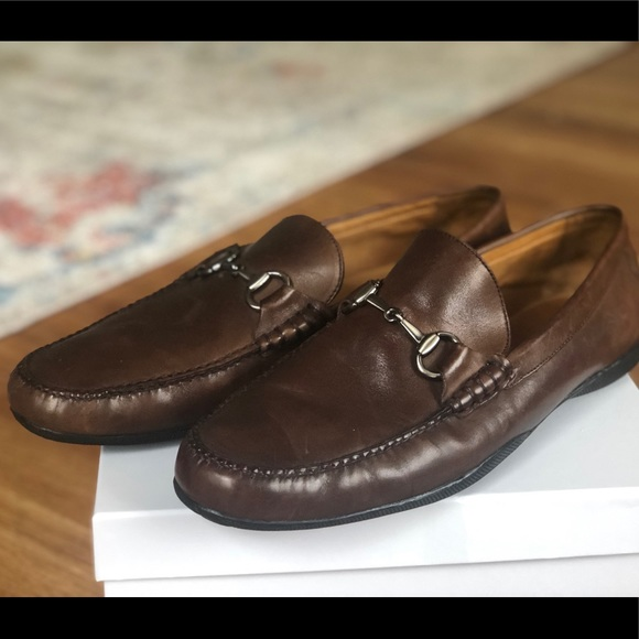 Peter Millar Leather Bit Loafer Style